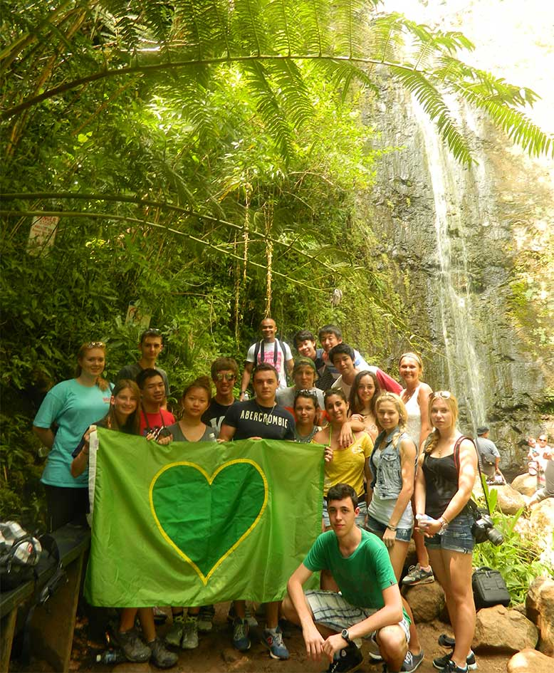 One Big Family on the Greenheart Hawaii Trip
