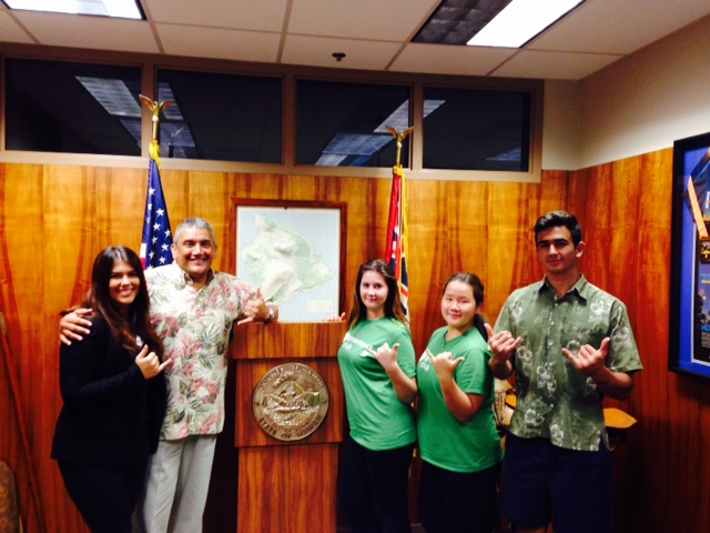 Exchange Students' Voices Bring Cultural Exchange & Community Improvement in Hawaii