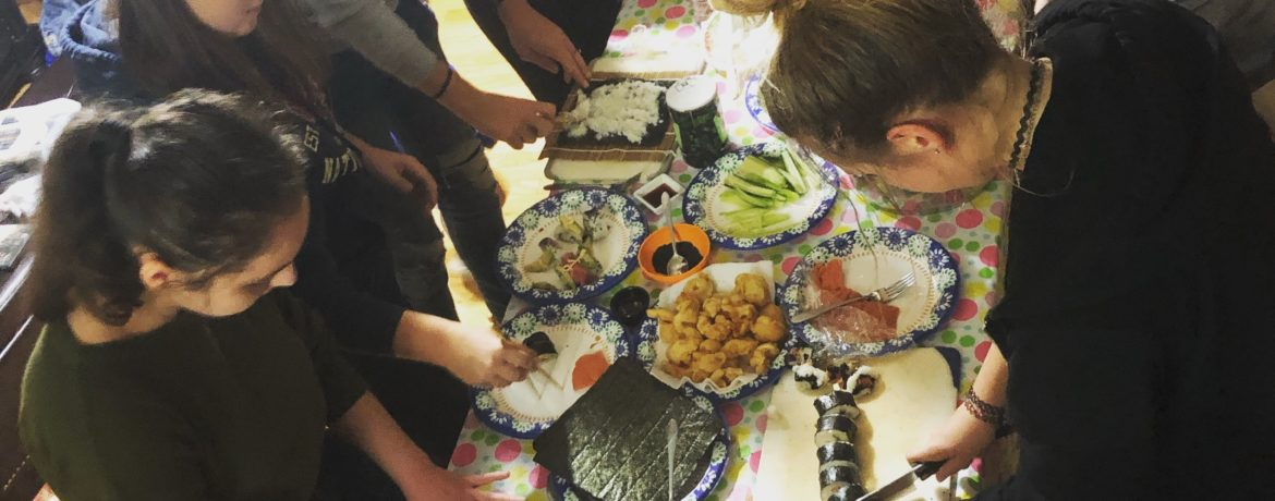 Sushi Night in Idaho Brings Cultures Together